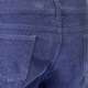 Corduroy Navy Regular Length