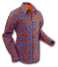 Wavyline Orange-Blue