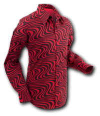 Wavyline Red-Black