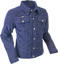 Jacket Corduroy navy