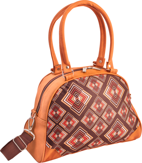 Hand-Bag Rhombus brown